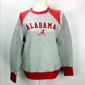 Alabama quilted pullover sweater juniors sz 12/14